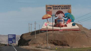 ¿Cuáles son los mejores carteles de la Panamericana Sur?