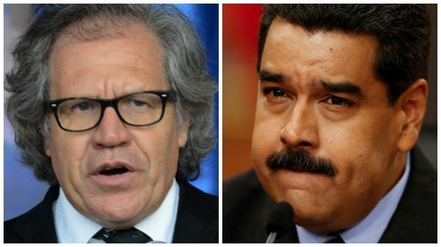 """Maduro llama """"basura de ser humano"""" a Luis Almagro"""