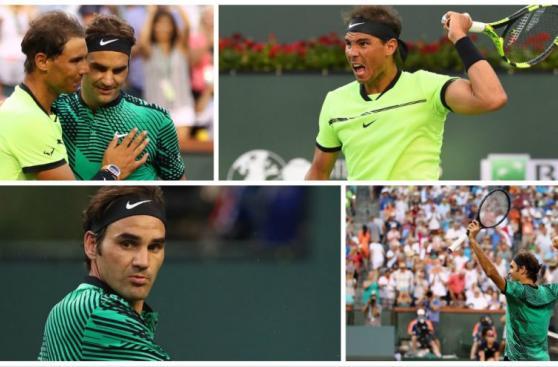 Roger Federer: imágenes de la aplastante victoria ante Nadal