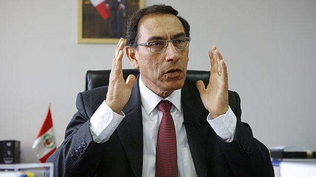 """Martín Vizcarra cree que saldrá """"fortalecido"""" de interpelación"""