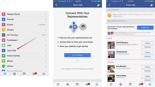 Función de Facebook ayuda a contactar con autoridades locales