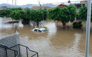 Huarmey se inunda tras desborde de río [VIDEO]