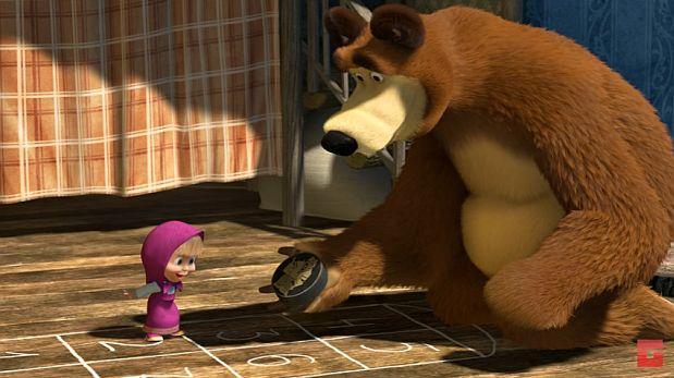 """La serie rusa """"Masha y el oso"""" es la más vista de YouTube"""
