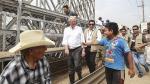 PPK inspeccionó puentes afectados por el río Huaycoloro [FOTOS] - Noticias de puente san pedro