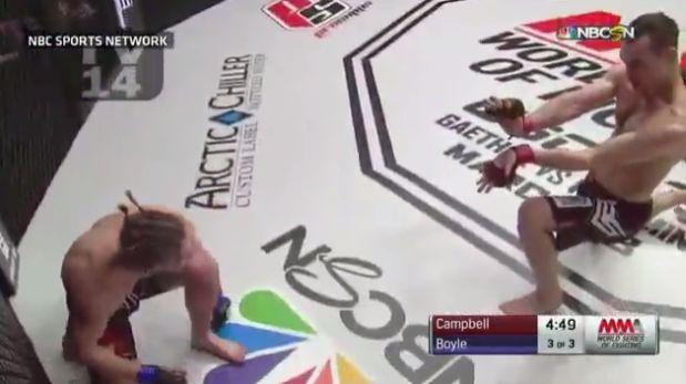 Youtube: peleador de MMA realizó técnica de Street Fighter