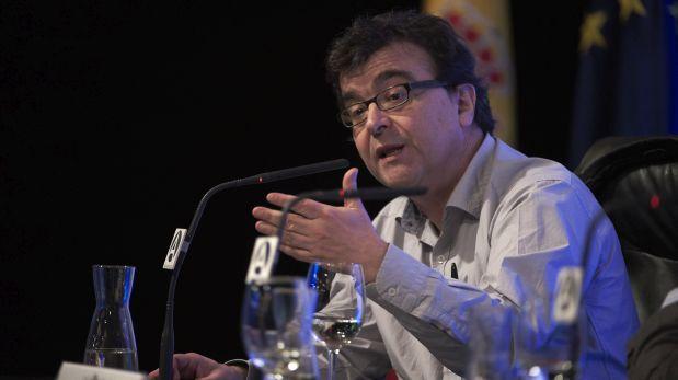 Javier Cerca en el Seminario