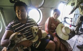 Sobreviviente: Mi casa se destruyó, pero no he querido dejarlos