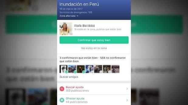 Facebook puso en funcionamiento el Safety Check ante desastres