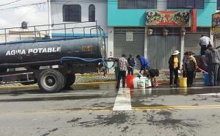 Arequipa: rotura de tubería dejará sin agua a 300 mil vecinos