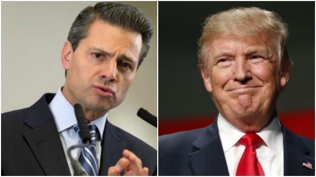 """Peña Nieto dice que ve """"un cambio de actitud"""" en Donald Trump"""