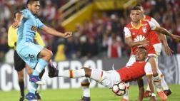 Sporting Cristal cayó goleado 3-0 ante Santa Fe en Libertadores