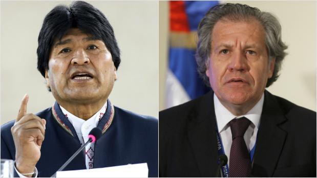 """Bolivia acusa a jefe de OEA de intentar """"derrocar"""" a Maduro"""