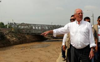 PPK anunciará medidas ante emergencia por lluvias y huaicos