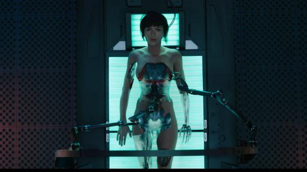 """Ghost in the Shell"": Androides con problemas de identidad"