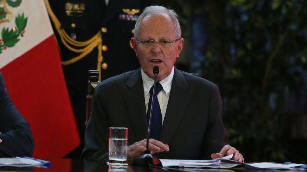 Gobierno de PPK no declarará estado de emergencia nacional