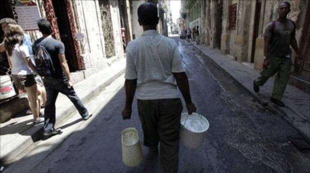 Mientras el Perú se inunda por las lluvias, Cuba se seca