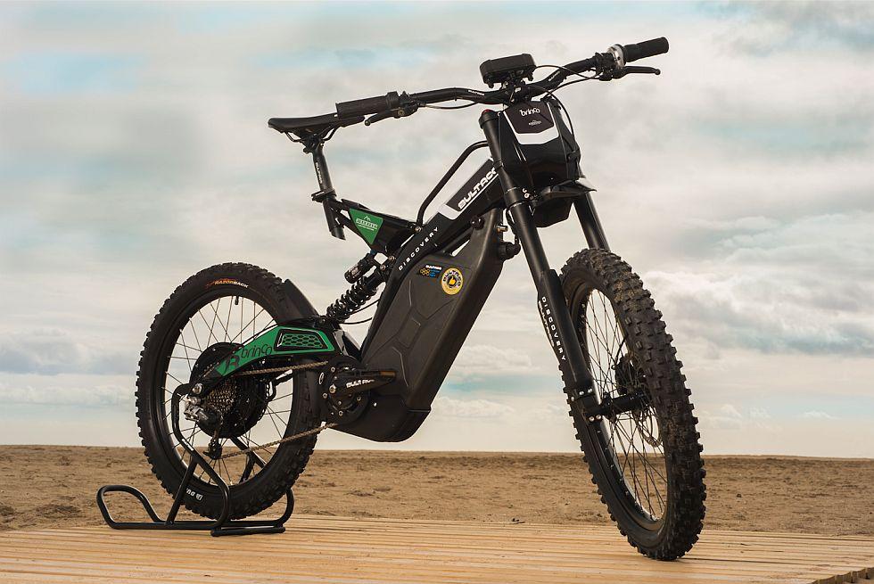 Land Rover y Bultaco pondrán a la venta esta bicimoto en abril a un precio de 5.700 dólares. (fotos: Bultaco)