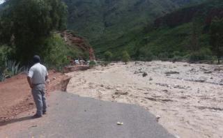 Ayacucho: provincias se encuentran en alerta por lluvias