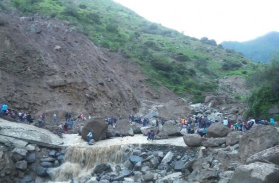 La Libertad: huaico mató a 7 personas en carretera de Otuzco