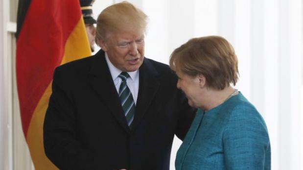 Trump: Merkel y yo tenemos en común el espionaje de Obama