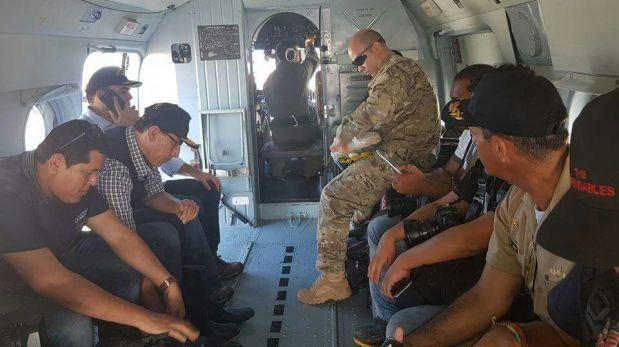 Áncash: primer ministro Fernando Zavala inspeccionó daños
