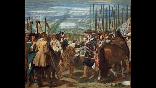 """""""La rendición de Breda"""" (1634-1635), de Diego Velázquez"""