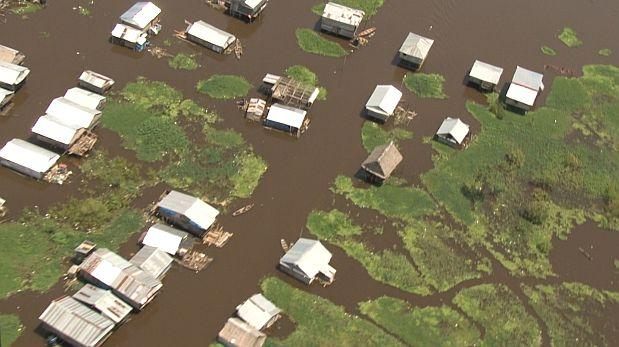 Loreto: autoridades identifican puntos críticos del Amazonas