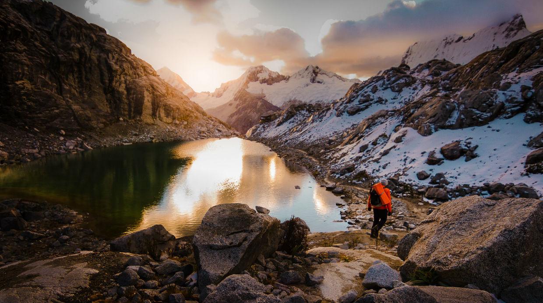 [Foto] Richard Hidalgo nos explica su amor por viajar a las montañas