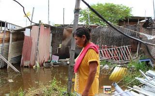 Piura: cifra de damnificados por lluvias sube a más de 15 mil