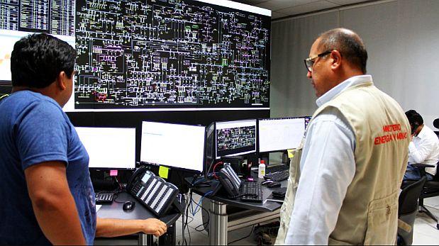 El ministro Tamayo revisó el funcionamiento del sistema interconectado de energía. (Foto: Minem)