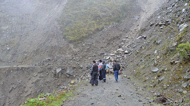 Puno: lluvias en la selva causan derrumbes y bloquean vías