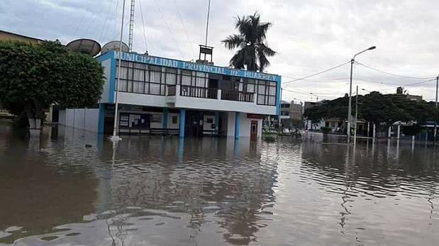 Áncash: las intensas lluvias de El Niño arrasan con Huarmey