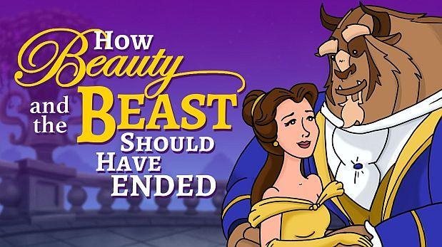 """¿Así debió ser el final de """"La Bella y la Bestia"""" de Disney?"""