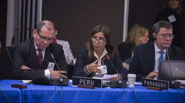 Eligen a funcionaria peruana en cargo anticorrupción de la OEA