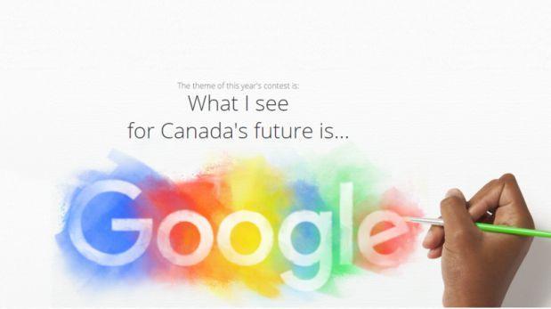 Google invita a hacer un doodle especial por el día de Canadá