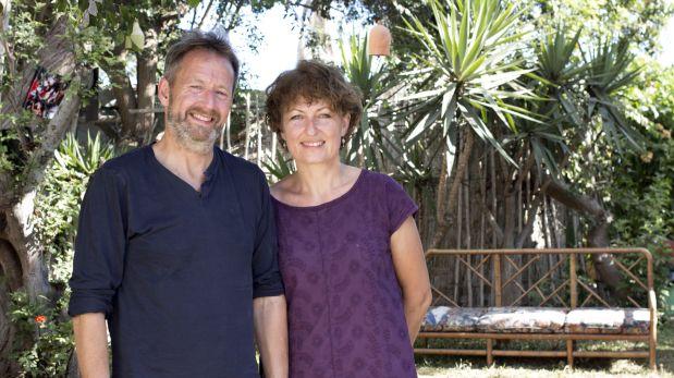 Andrew y Frances Nixeaman en Lima. Llegaron como exponentes del Censurados Film Festival, dedicado a la crisis de refugiados en Europa. (Foto: Difusión)