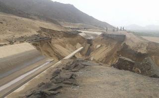 Trujillo: no habrá agua potable por rotura de canal madre