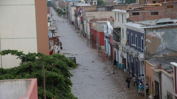 Trujillo: autoridades evalúan daños tras desborde de quebradas