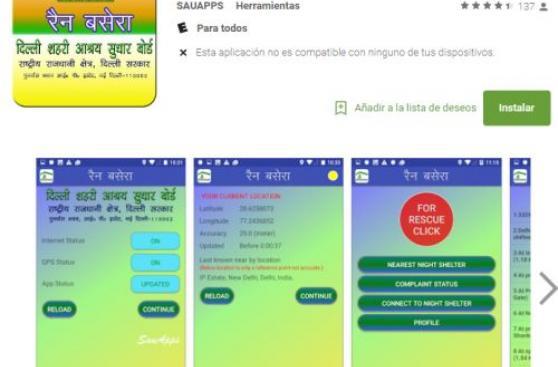 La India inventa una app para dar hogar a los desamparados