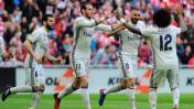 Real Madrid ganó 2-1 a Athletic Bilbao por la Liga española