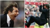 Chelsea: Antonio Conte celebró con locura gol de Cahill [VIDEO]