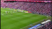 CUADROxCUADRO del gol decisivo de Casemiro y el festejo blanco