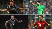 Champions: los jugadores más veteranos de cuartos de final