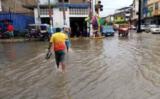 Tumbes: Senamhi prevé reinició de lluvias intensas en Tumbes