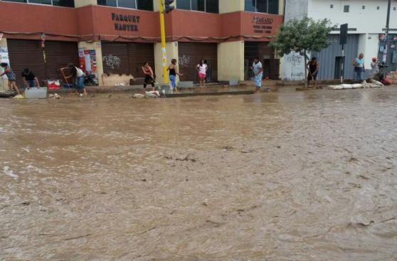 Trujillo: así luce la ciudad tras nuevo huaico [FOTOS]