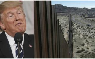 """EE.UU. quiere que muro fronterizo sea """"estéticamente agradable"""""""
