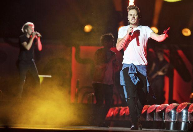 One Direction durante una de sus presentaciones. (Foto: AP / archivo)