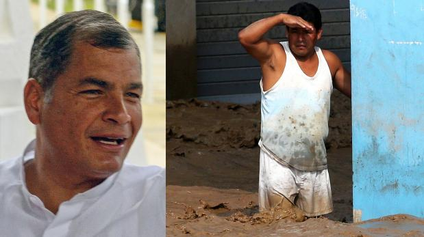 Lluvias en el Perú: Ecuador envía avión para sus ciudadanos