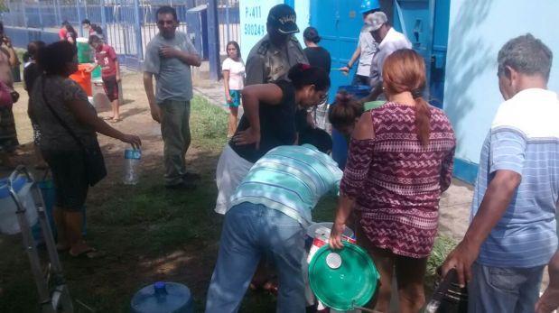 Chosica: entregan agua de forma gratuita a vecinos