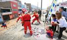 Ministros se desplegaron por zonas de emergencias [FOTOS]